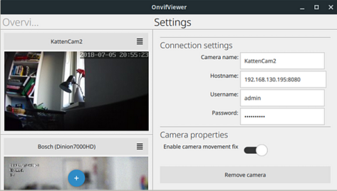 ONVIFViewer – Internet Camera Viewer for Linux and Android